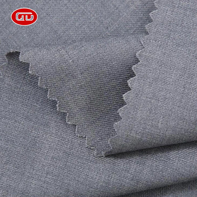 2020 new arrive comfortable woven tr suiting fabric for garment