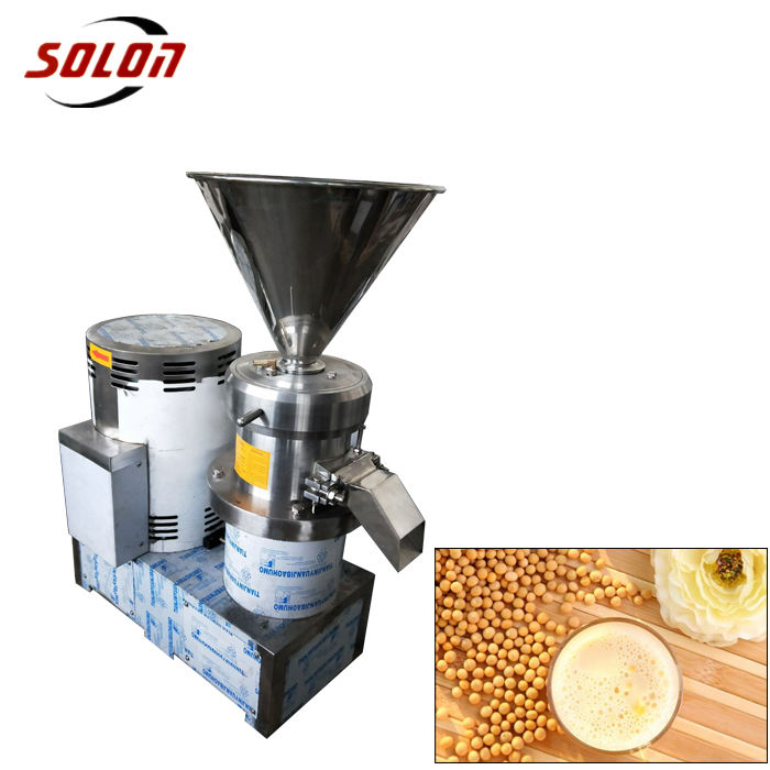 Hot selling small colloid mill peanut butter making machine