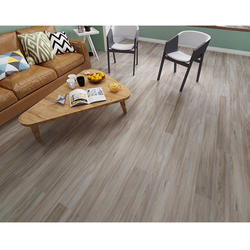 Wood color high quality interlocking click SPC floor stone plastic flooring vinyl