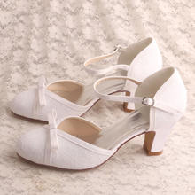Womens Shoes Pumps White Closed Toe