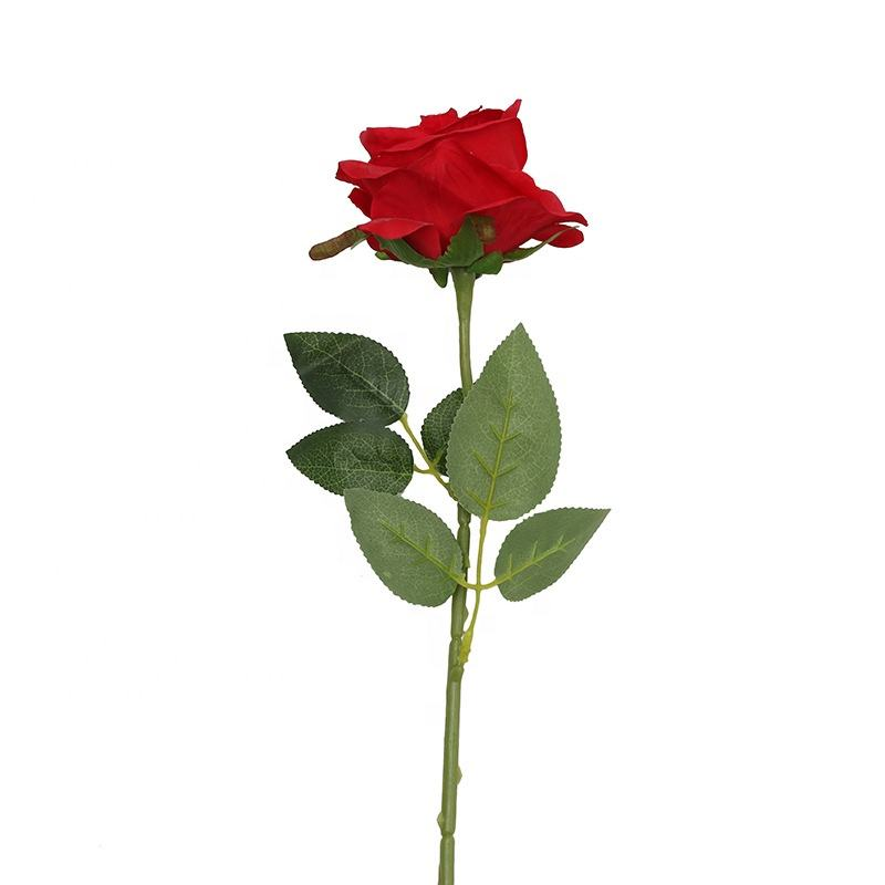 Wholesale Long Stem High Quality Artificial Roses For Wedding