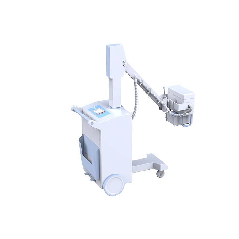 mobile radiography X ray system high frequency 50kHz high voltage 120kV mobile unit PLX101D bettery inside