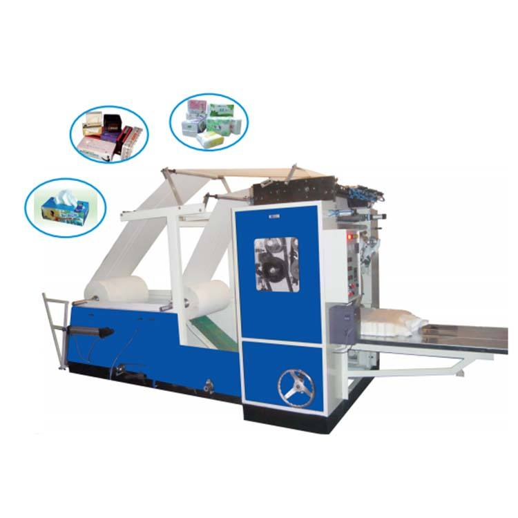 Automatic tissue paper towel slitting making machine