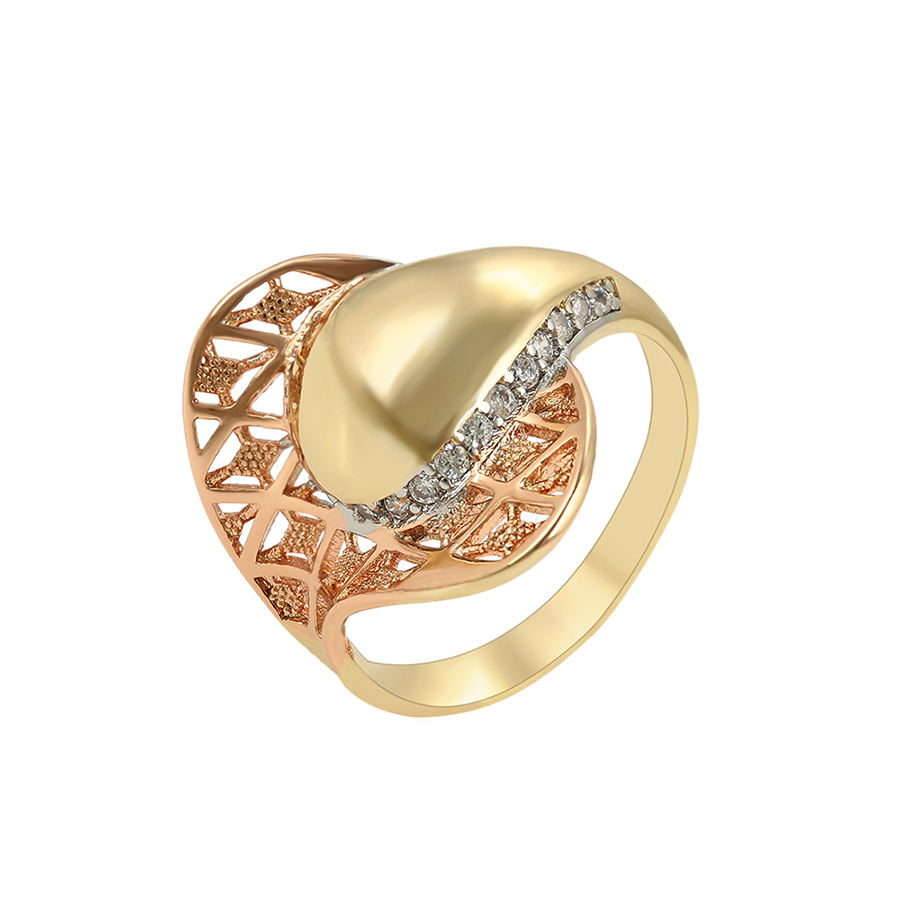 16094 xuping wholesale fashion rings sets for girls, dubai gold ring