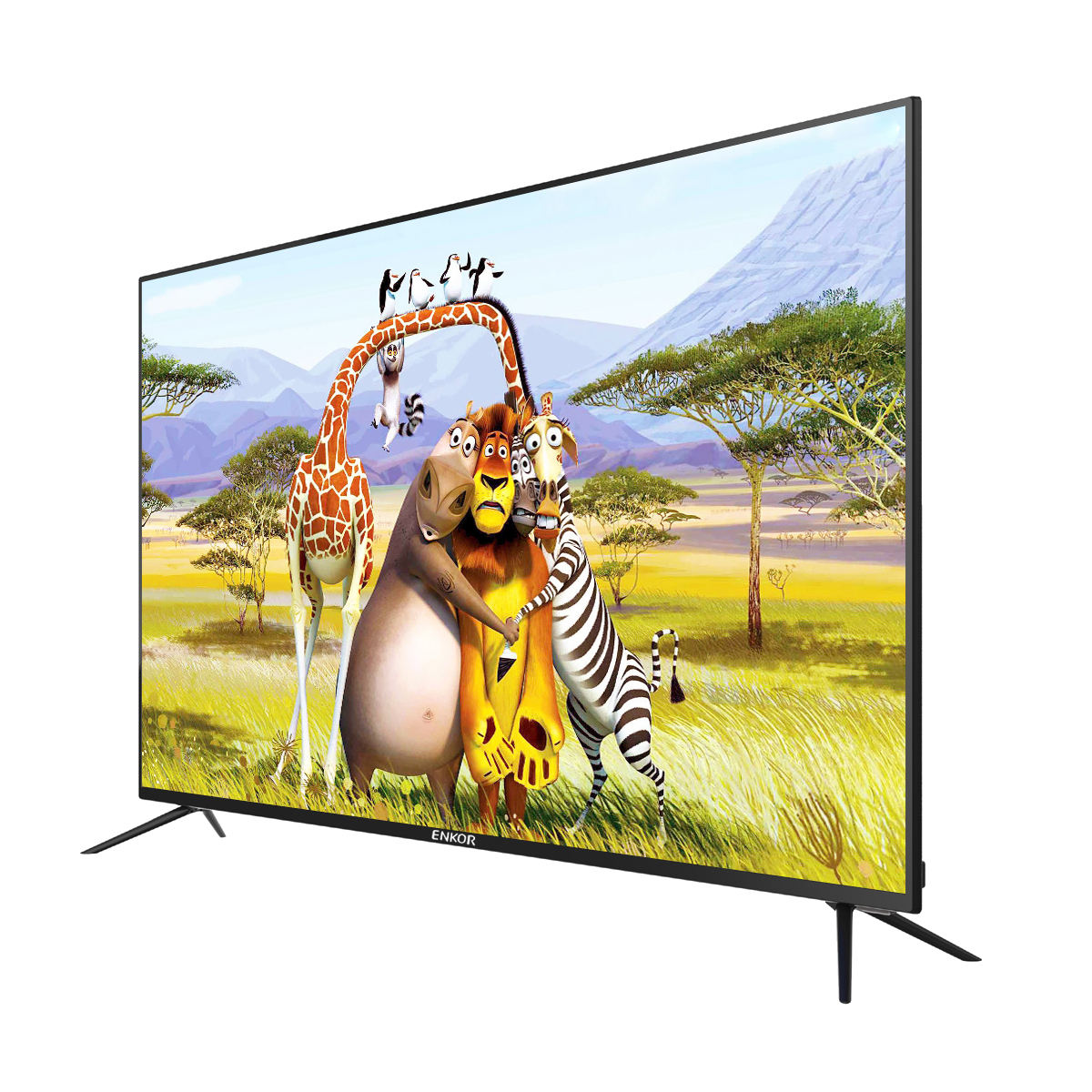 Tela de tv led plasma de 50 polegadas 4 k smart tv