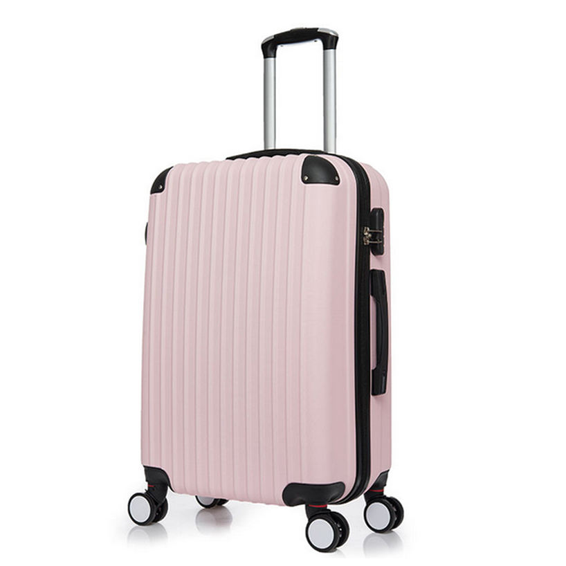 Fashion girl travel luggage trolley bag hardshell suitcase carry on luggage for woman