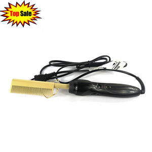 Amazon Beauty & Personal Care Hair High Heat Straightener Pressing Electric Hot Comb Wholesale