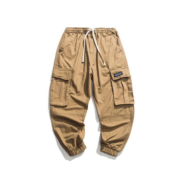 Factory directly supply casual cargo baggy pants for men