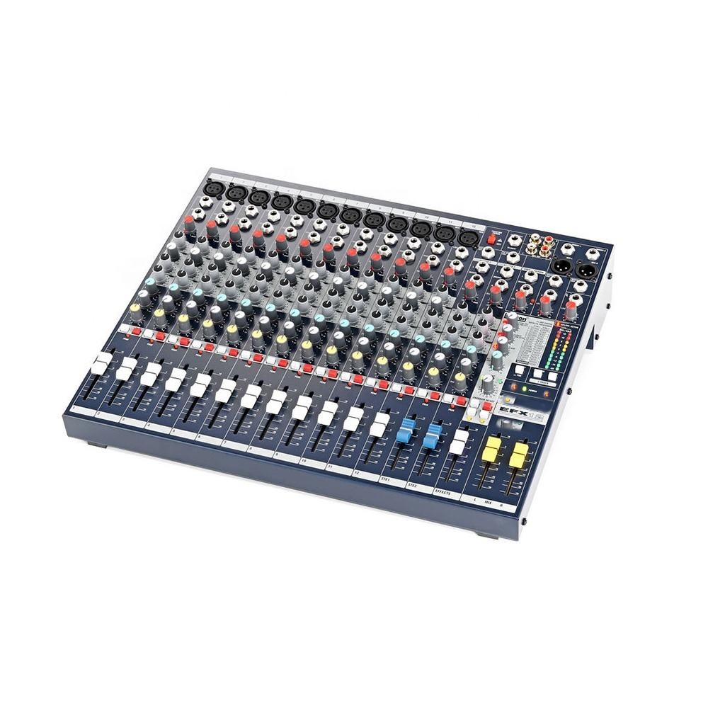 Factory Wholesale High Quality Soundcraft Style EFX12 Mixer with Best Price Service