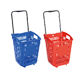 2020 Plastic Shopping Rolling Basket for Supermarket with wheels