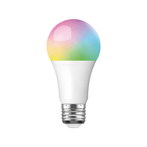 Wireless New Design Zigbee Smart RGB Light Bulb E27 Multicolor Controllers Wi-Fi Smart Night Led Light Bulb
