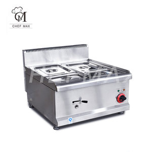 Commercial 1500W 4 Container Buffet Server Countertop Electric Food Warmer Bain Marie