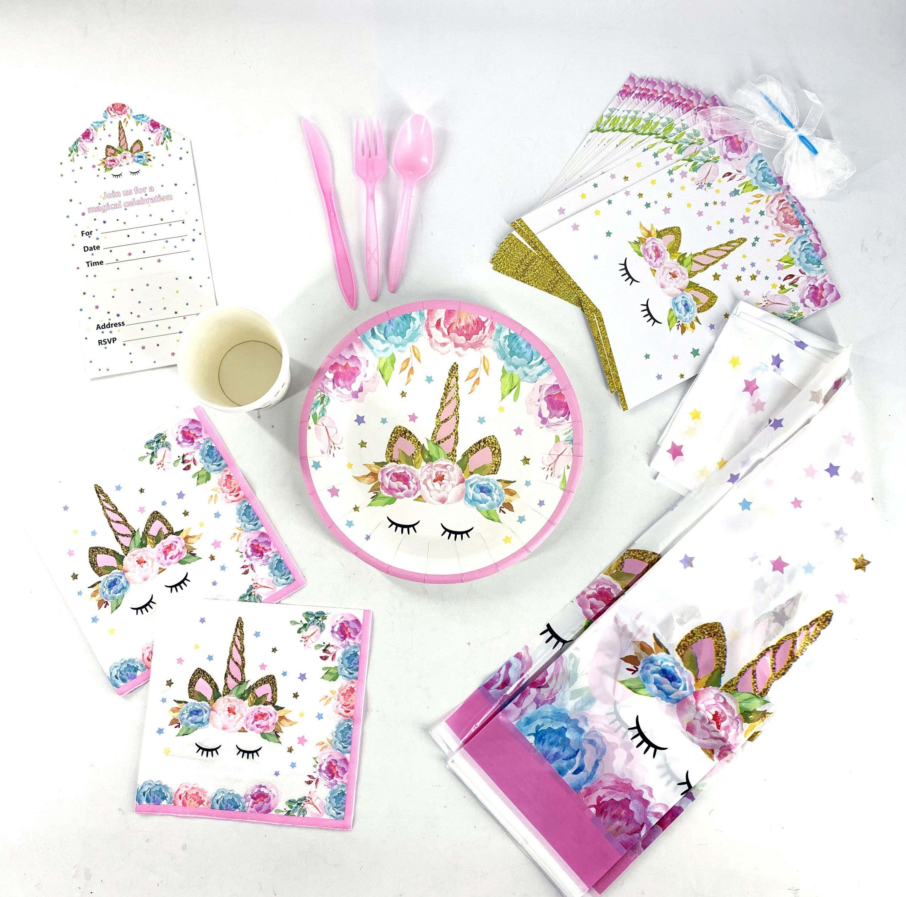 Kids Birthday Event Themed Party Supplies
