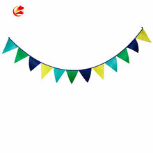 Customized Printing Triangle String Bunting Flags For Party Decor wholesale