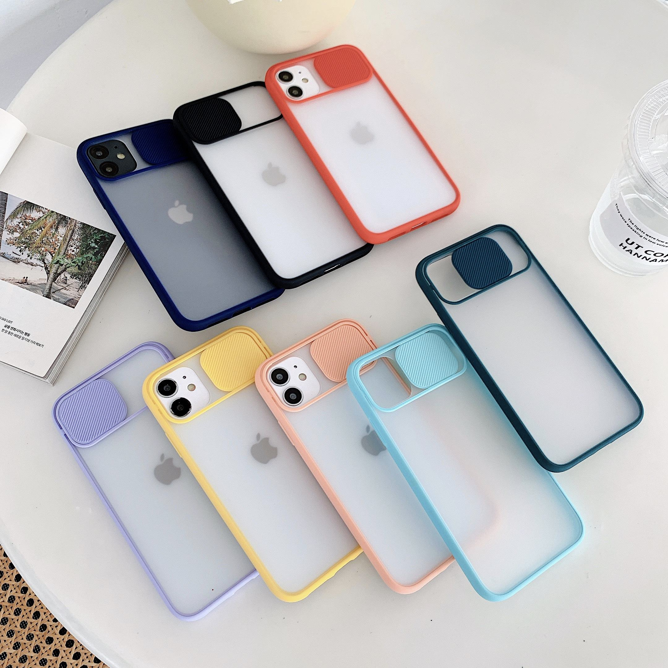 Hot Selling Protective lens frosted translucent TPU mobile phone case for iPhone X for iPhone11