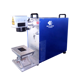 High quality 20W 30W 50W Mini Metal Desktop Fiber Laser Marking Machines For Metal/ Plastic/ ABS/ PVC/ Steel