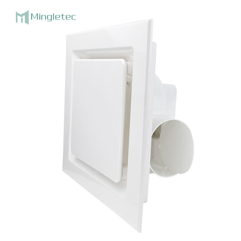 Hot Sale Square Mount Office living room bathroom Home Ventilation Toilet Ceiling Duct Exhaust Fan