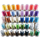 High temperature resistant 100% dyed polyester machine embroidery thread