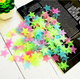 Many types Home Decoration Beautiful Fluorescent 3D Glow in The Dark Moon Stars Wall Sticker