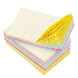 Kleine notities opname sticky pads memo pad papier roll