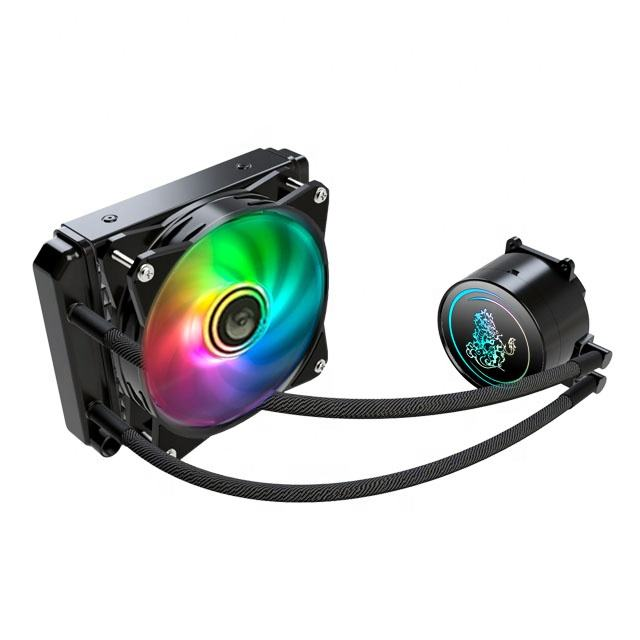 Tianjifeng factory direct 120mm Liquid cooling fans CPU water Liquid Cooler computer processor radiator