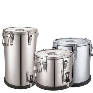 Heavybao Customized Newly Stainless Steel Food Warmer Insulation Containers With Double Walls And Ergonomic Handles