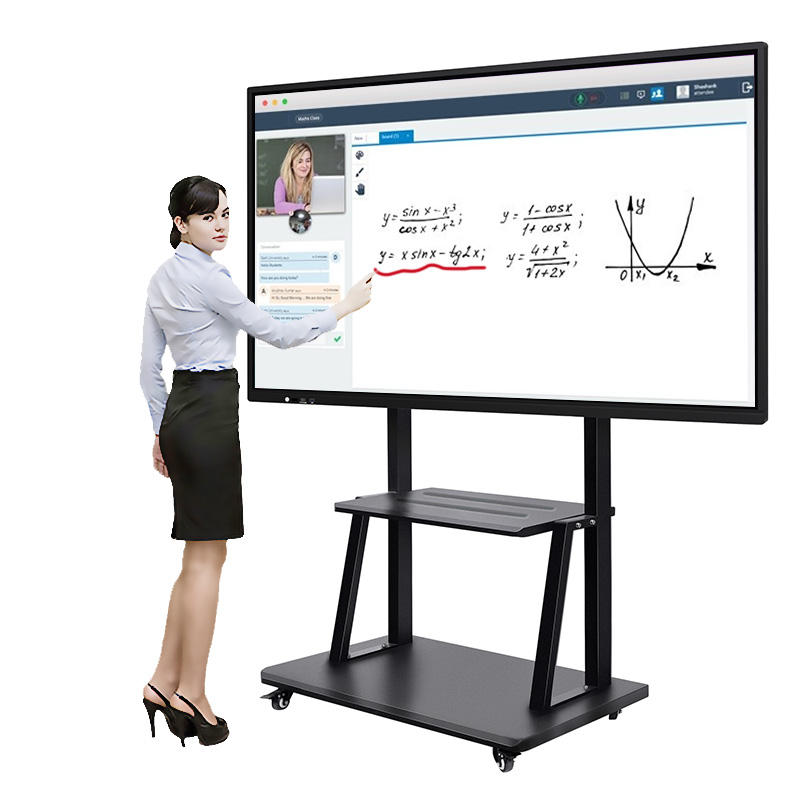 86 Inch Interactieve Flat Panel Multi Touch Screen Smart Board