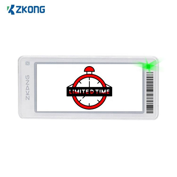 Zkong Watch eco friendly esl and pricing tag supermarket acrylic price tag holder