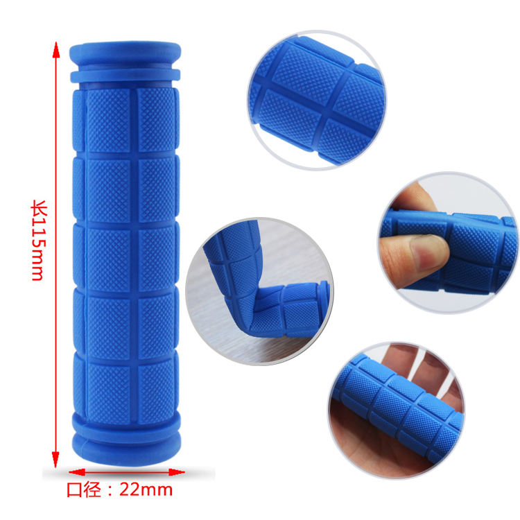 Silicone Rubber PVC Bike Handle Grips Bicycle Handle Bar with Non-Slip Grip