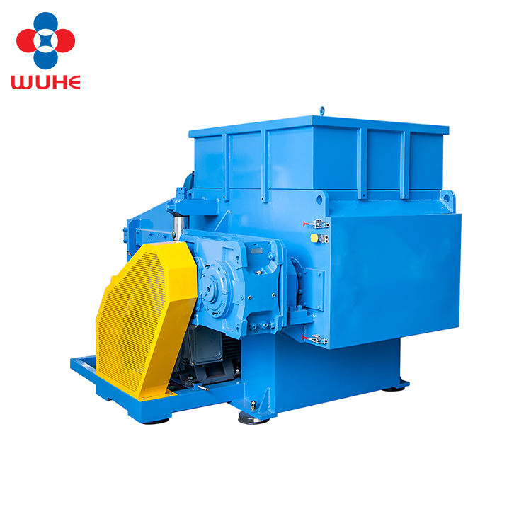 hdpe waste film wood pellet shredder machine