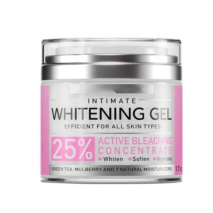 Lightening Gel for Body, Face, Bikini and Sensitive Areas Skin Contains underarm whitening cream for black skin