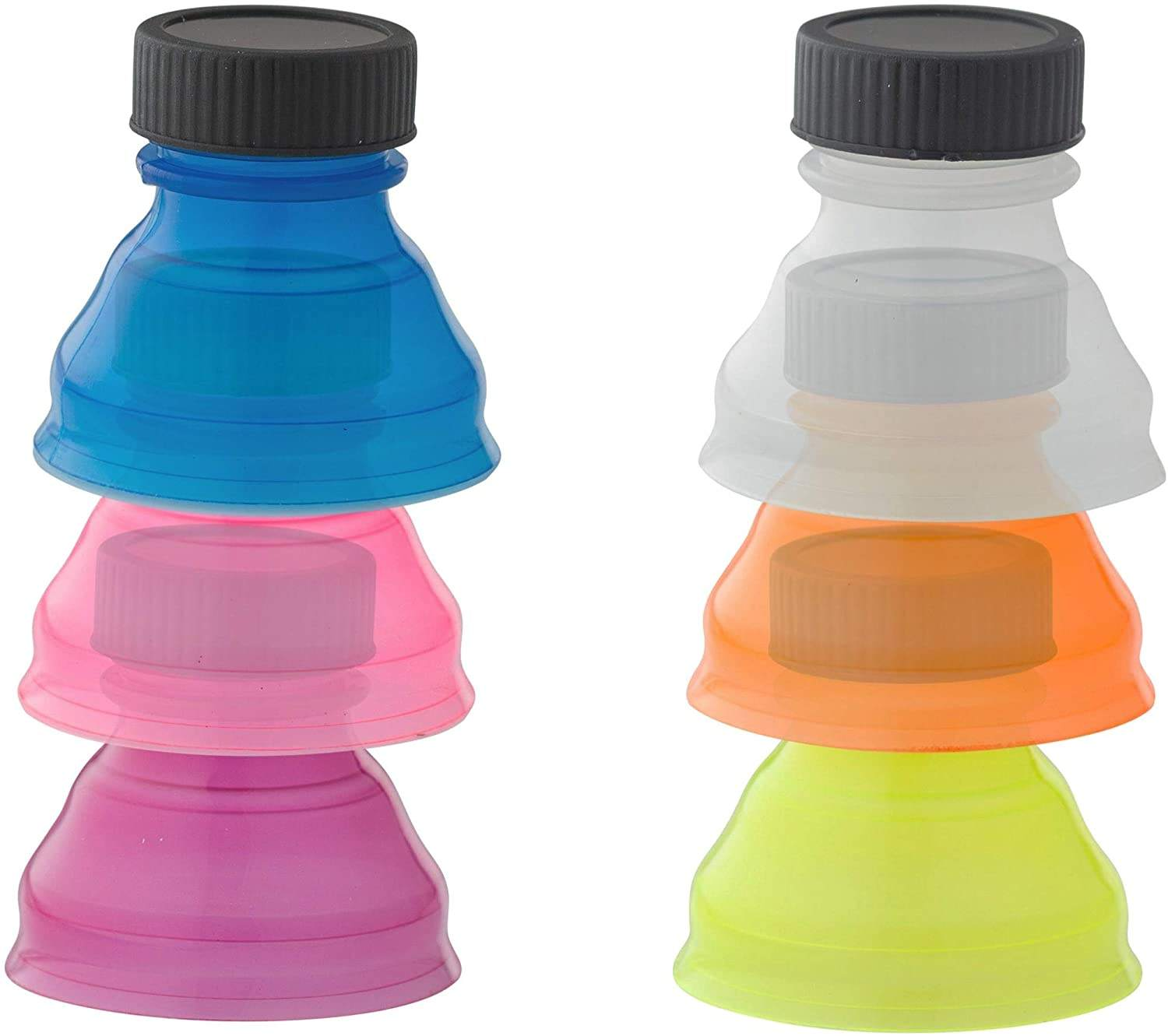 wholesale hot 12oz Plastic skinny can cooler cover lid Soda Saver Bottle Top Cover Lid wine stoppers