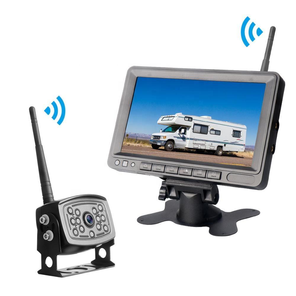 Cámara de video 10m 4-Pin Cable de alimentación de aviación Backup para el Kit de visión trasera coche camión