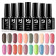 Private label OEM&ODM 100 colors 10ml gel nail polish kit set soak off uv nail gel polish set uv gel nail polish