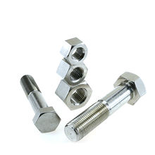 Fastener Standard DIN931 DIN933 DIN934 Stainless Steel Hex Bolts And Nuts m32 m42 m40 m39 m64 m1 m2 m48 m68
