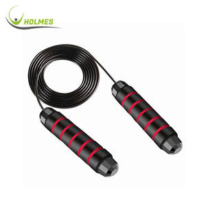 Foam Handles Ideal for Aerobic Exercise Tangle Free Steel wire Rapid Speed Jump Skipping Rope
