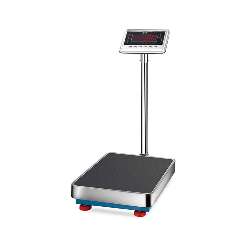 digital platform balance scale weighting to computer with big display