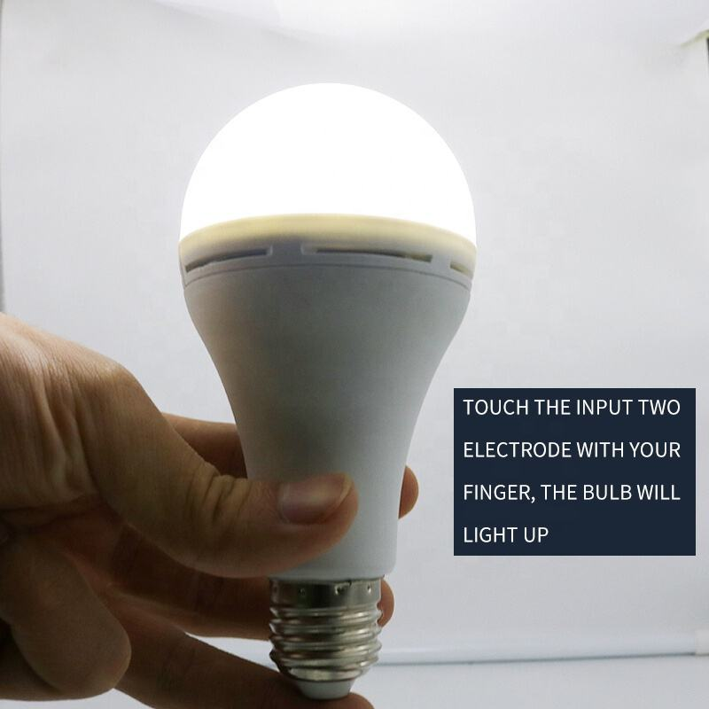 China manufacturer e27 / b22 emergency led bulb rechargeable light