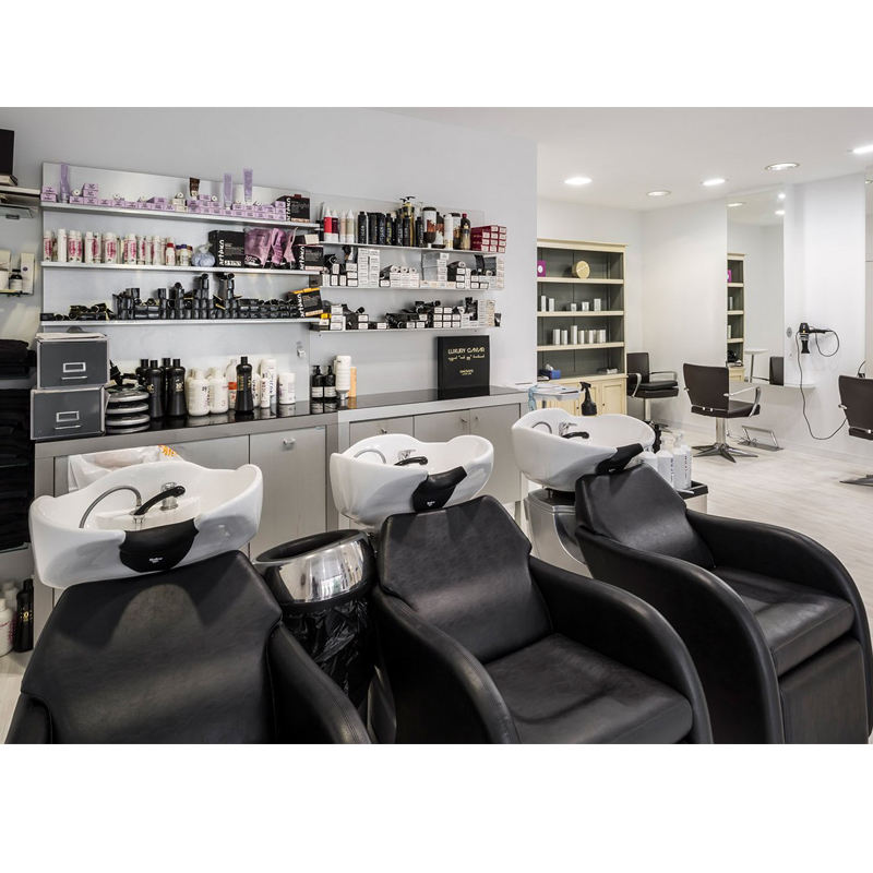 Fashion Hair Salon Store Interior Equipment Barber Shop Cabinets Furniture For Sale