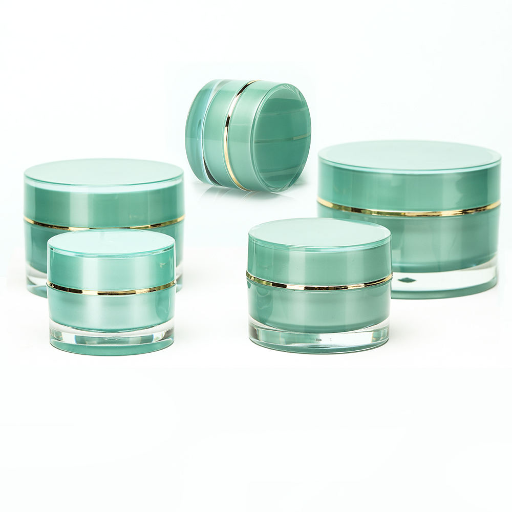 Hengsheng factory wholesale plastic cosmetic containers and packaging cream jars 5g 10g 20g 30g 50g
