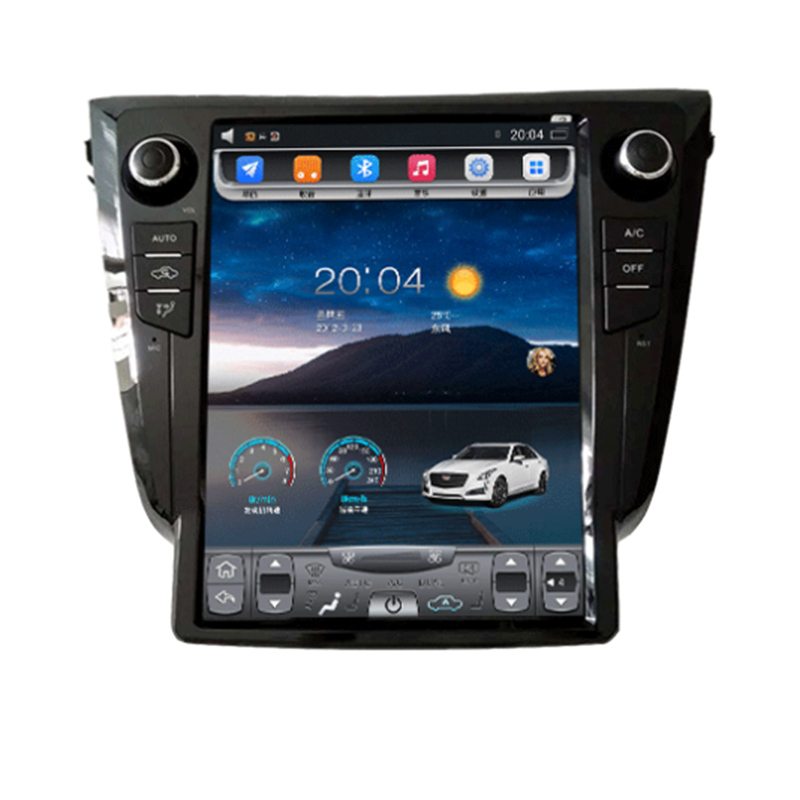 12.1 pollici android 9 per Nissan X-Trail 2014-2016 Auto Radio Multimedia Video Player di Navigazione GPS 2 din auto radio dvd