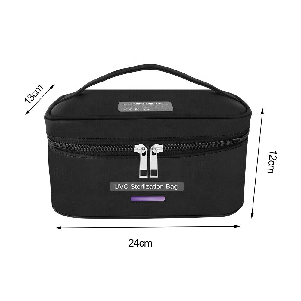 Uv Sterilizer Bag case Led Light Portable LED UV Sterilization Pack Box Underwear Disinfection Bag