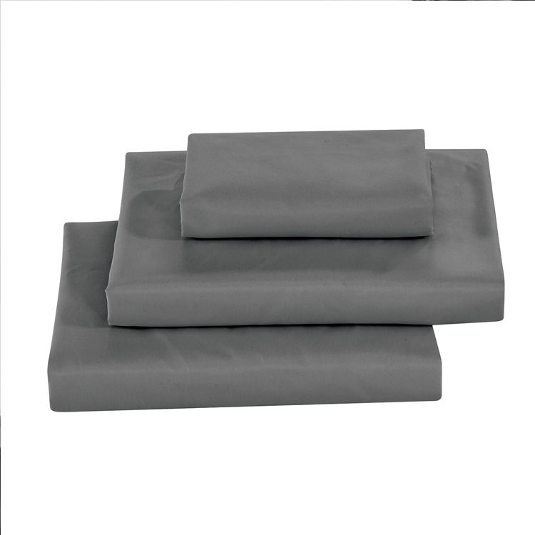 Amazon Hot Sale Polyester Microfiber Bed Sheet Sets Queen Size