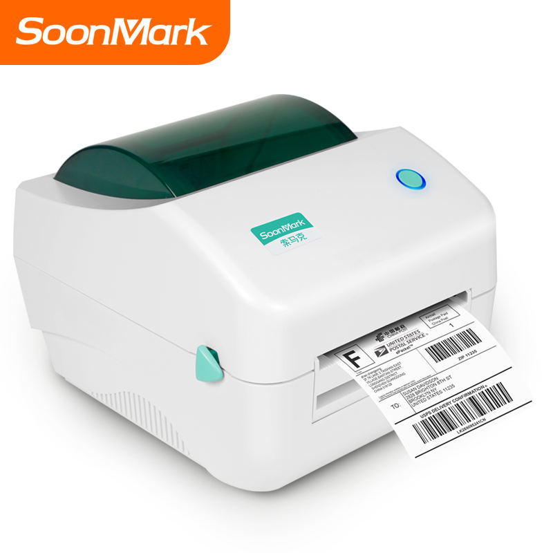 Cheap 203dpi Thermal Barcode Sticker Label Printer with bluetooth larger quantity and more favorable