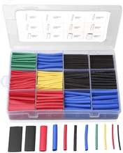 Hampool Good Quality 560pcs Electrical Cable Sleeves Marine Heat Shrink Tube