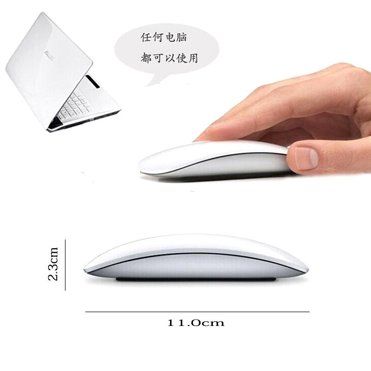 TM8200 2.4g wireless mouse ultra-thin magic wireless mouse with nano usb receiver