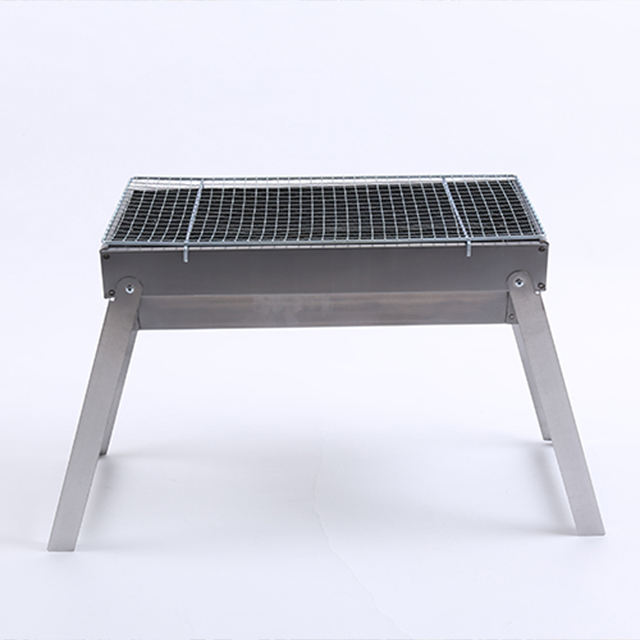 Different Size eco portable korean stainless steel grill bbq charcoal table grill