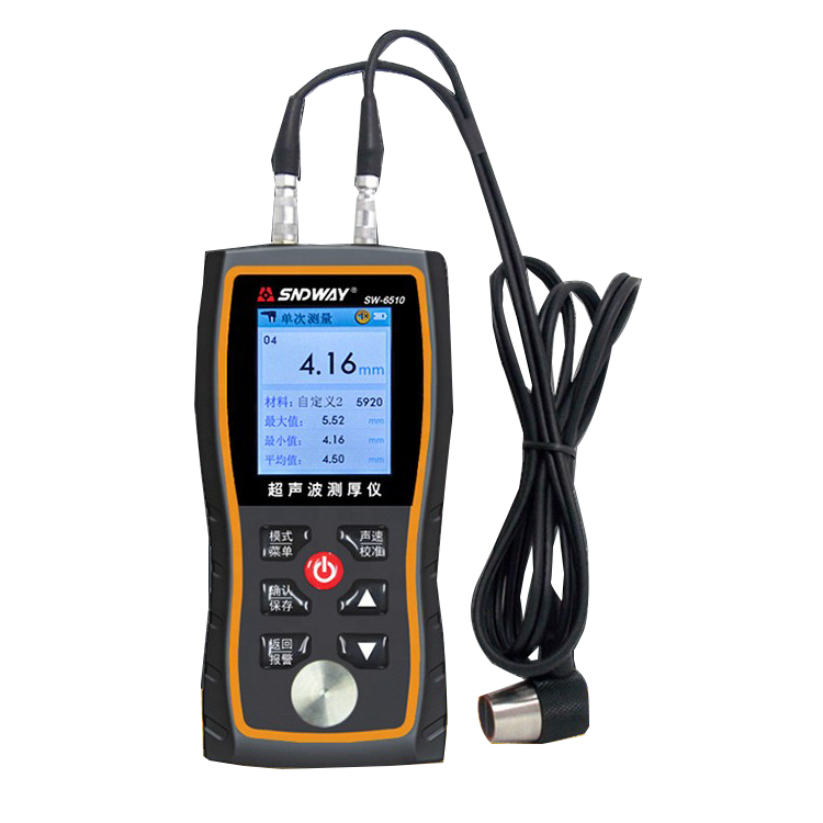 High Precision Ultrasonic Thickness Gauge Metal Plate Costing Thickness Gauge