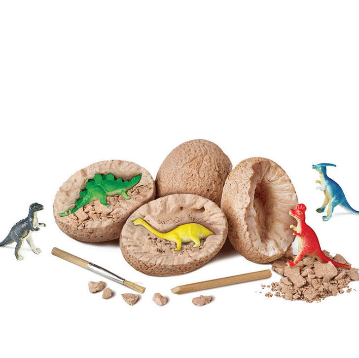 Dino Eggs Dig Kit, 12 Dinosaur Eggs Toys for Kids, Easter Dinosaur Eggs Archaeology Dinosaur Fossil Eggs Excavation Kit Science