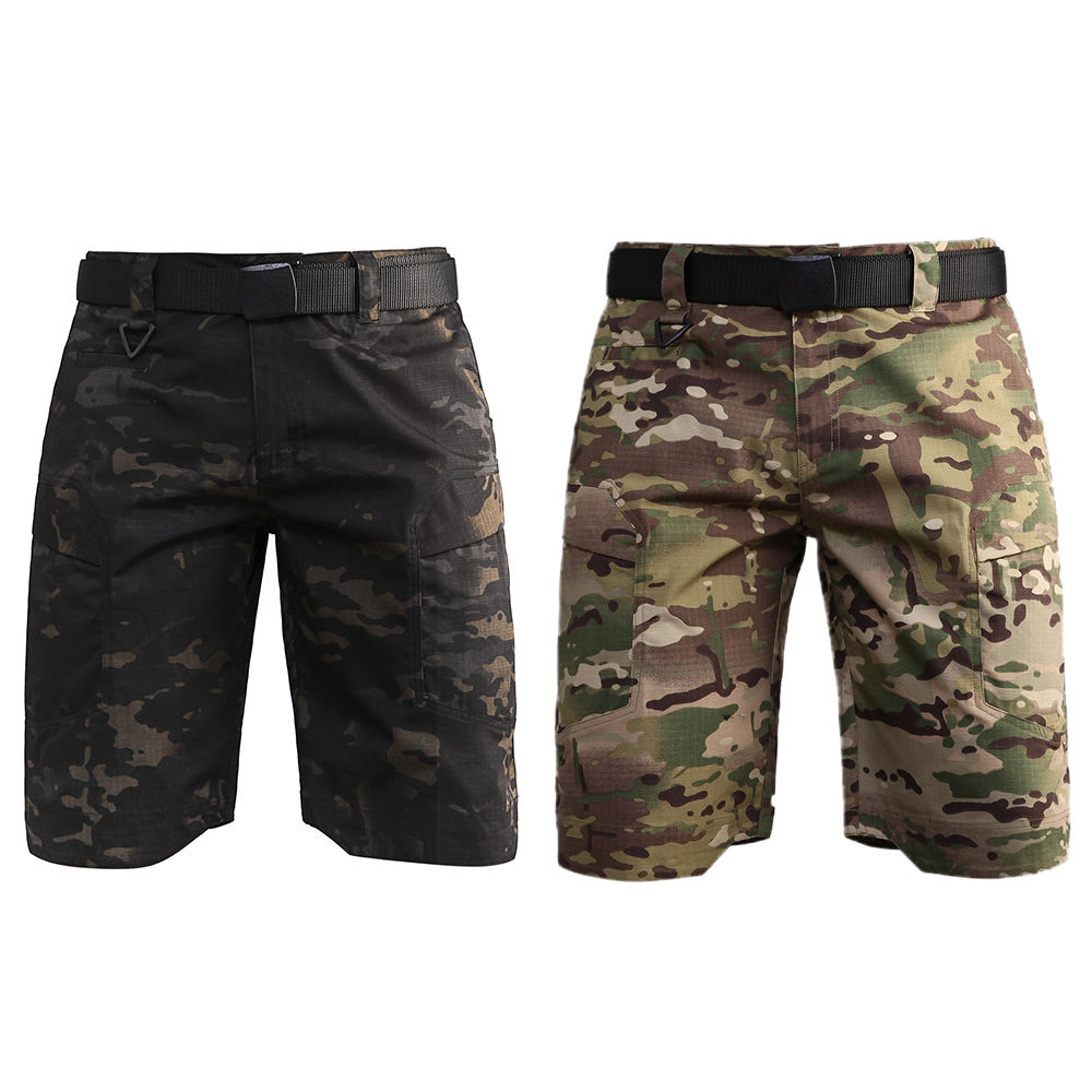 High Quality Waterproof Army Camouflage Trouser Quick Dry Swat Men's Short Pants Police Short Trouser